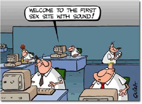 Pornos im Büro